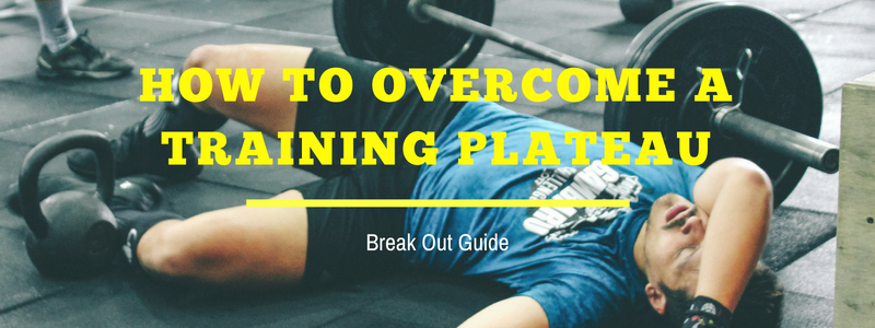 how to bust through a training plateau